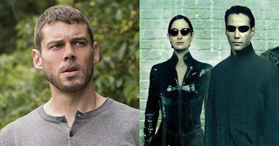 Brian J. Smith The Matrix 4 Keanu Reeves Sense8
