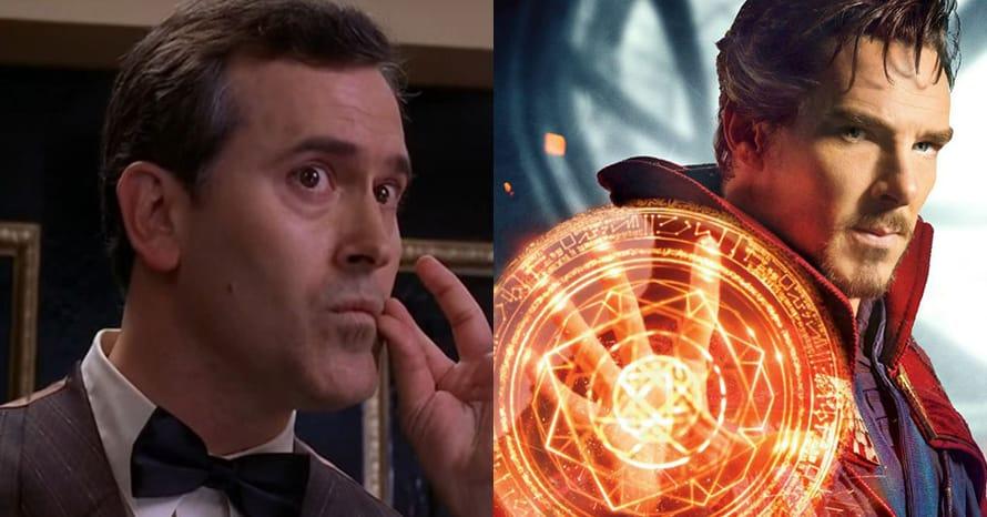 Bruce Campbell Sam Raimi Doctor Strange