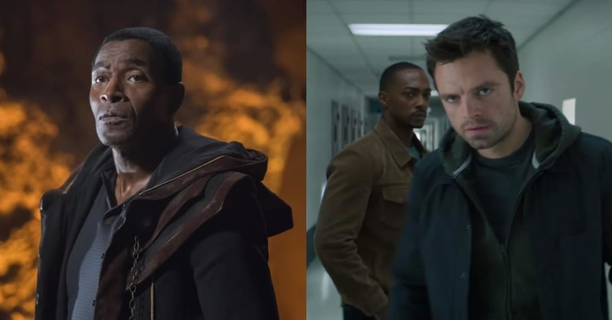 Carl Lumbly Falcon Winter Soldier Supergirl