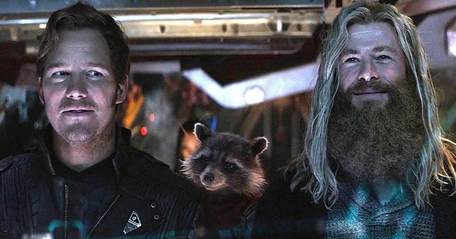 Chris Pratt Thor Chris Hemsworth Guardians of the Galaxy Vol. 3 James Gunn Taika Waitti