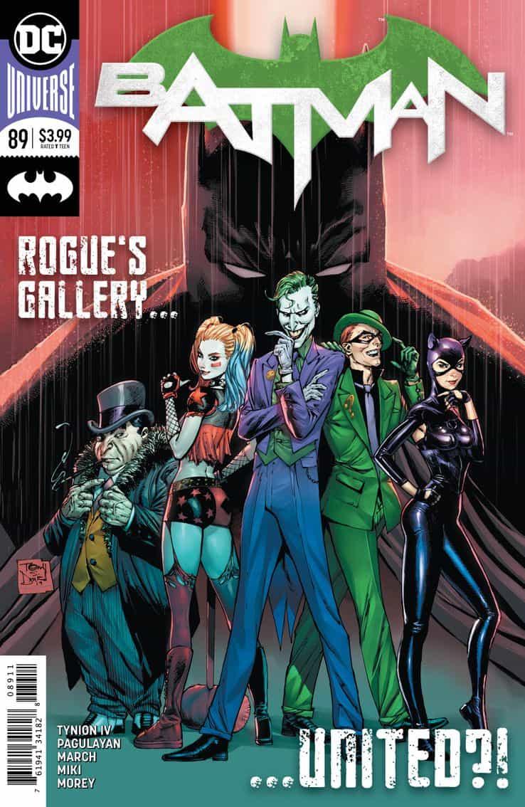 Batman #89 Joker Harley Quinn Punchline