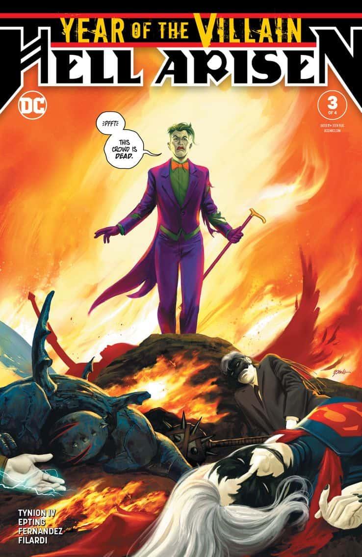 Year Of The Villain: Hell Arisen #3 Joker Harley Quinn Punchline