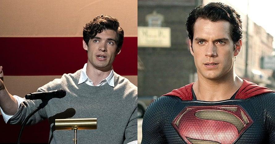 David Corenswet Henry Cavill Superman