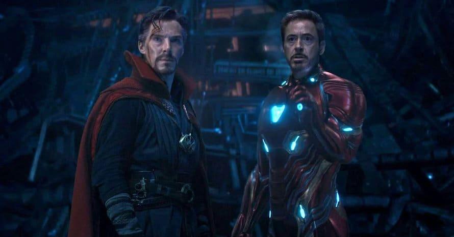 Doctor Strange Iron Man Benedict Cumberbatch Avengers Infinity War Kevin Smith