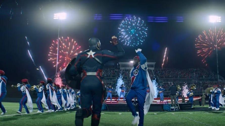 Falcon Winter Soldier US Agent Wyatt Russell Marvel