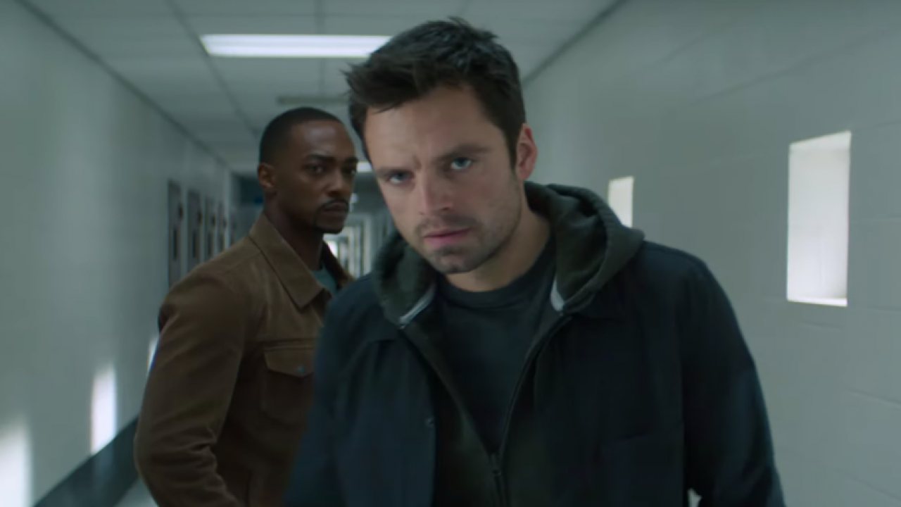 New Look At Anthony Mackie & Sebastian Stan's Falcon & Winter Soldier