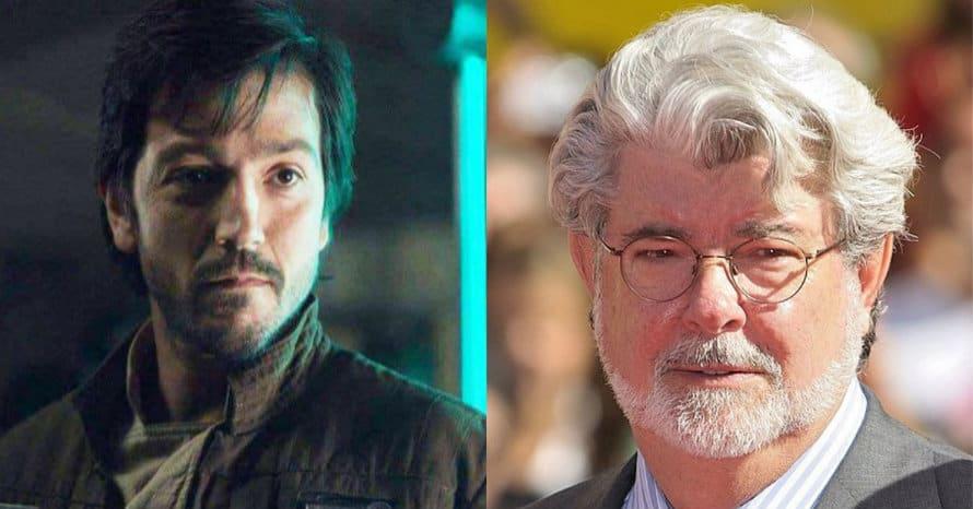 George Lucas Cassian Andor Rogue One Disney Plus