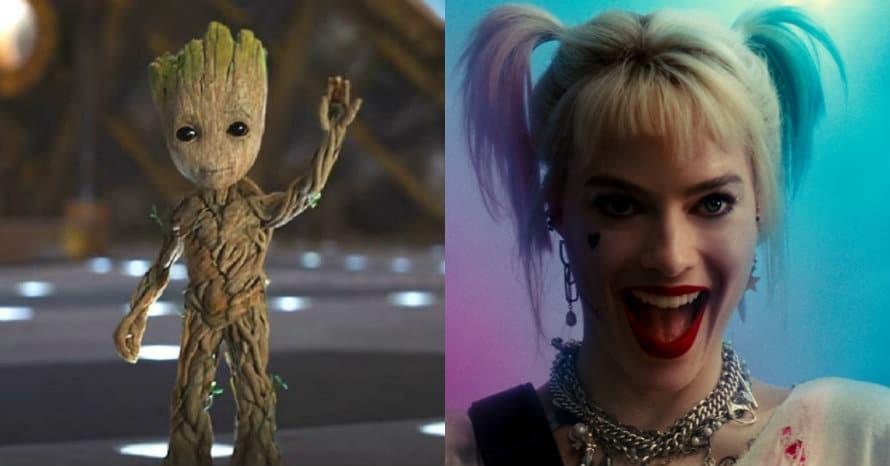 Harley Quinn Margot Robbie Groot The Suicide Squad James Gunn