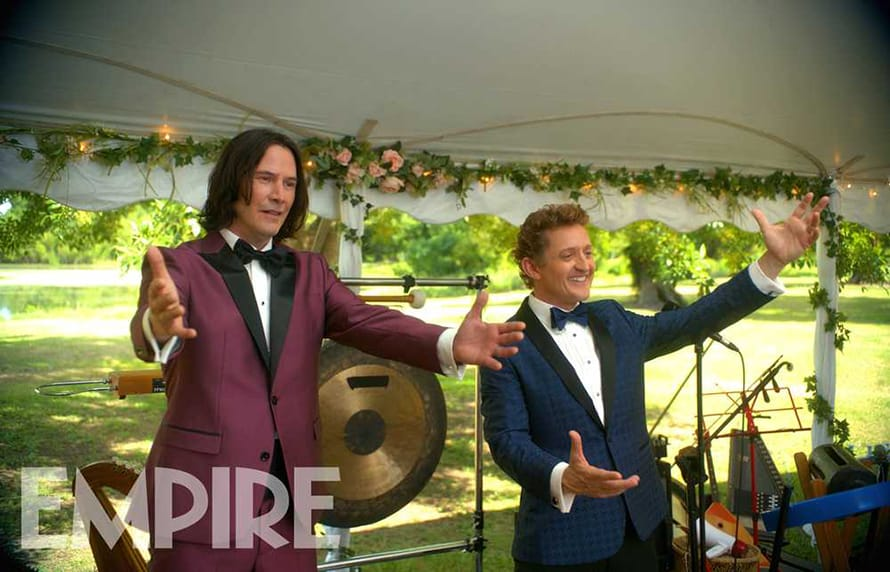 Keanu Reeves Alex Winter Bill and Ted Suits