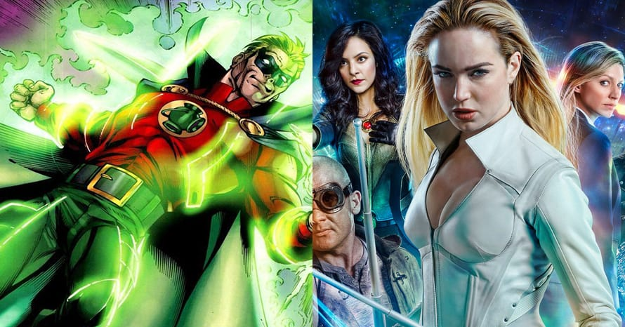 Legends of Tomorrow Alan Scott Green Lantern