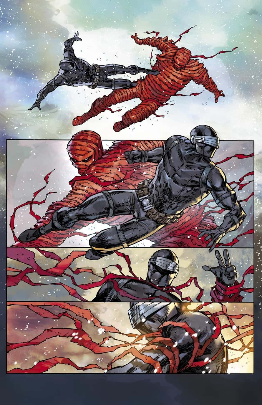 Rob Liefeld GI Joe Snake Eyes