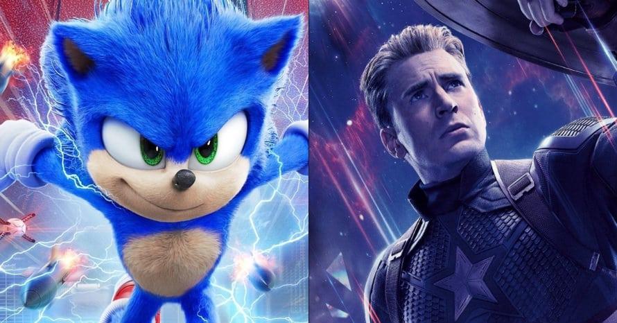 Sonic Avengers Chris Evans