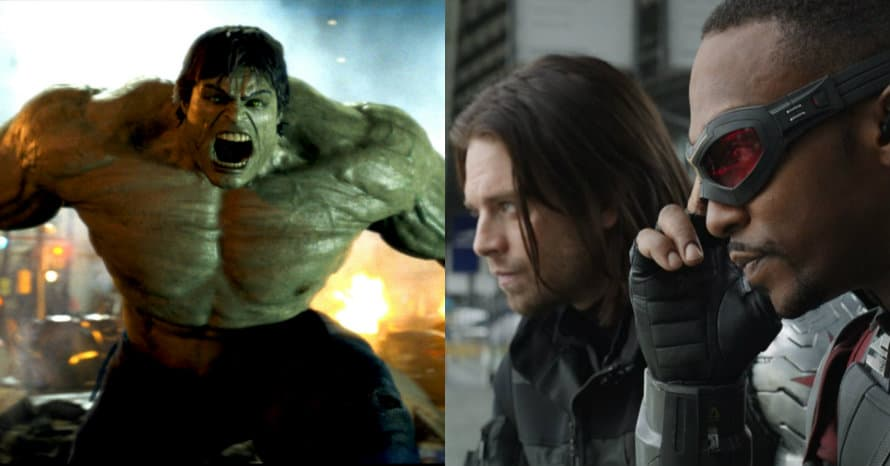 The Falcon and The Winter Soldier Hulk