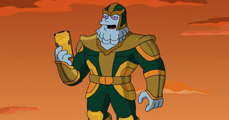 The Simpsons Kevin Feige Thanos Marvel