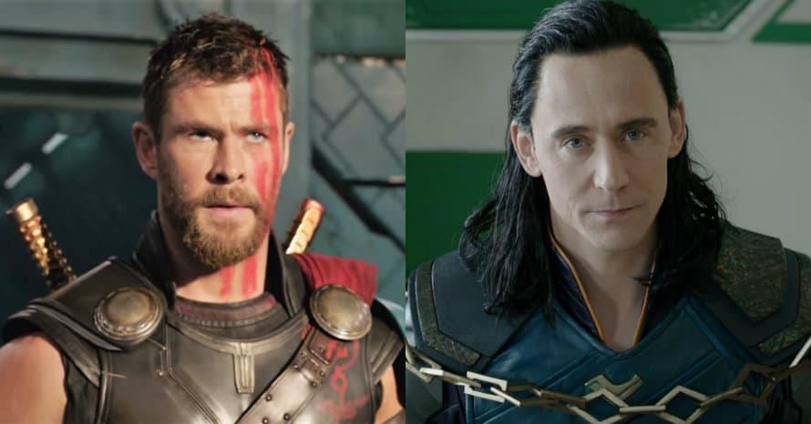 Thor Loki Chris Hemsworth Tom Hiddleston Loki Avengers