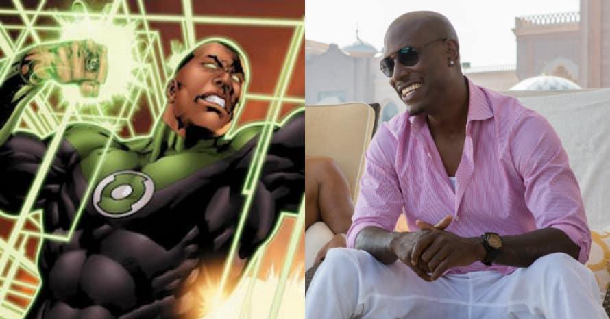 Tyrese Gibson Green Lantern Corps Warner Bros. DCEU