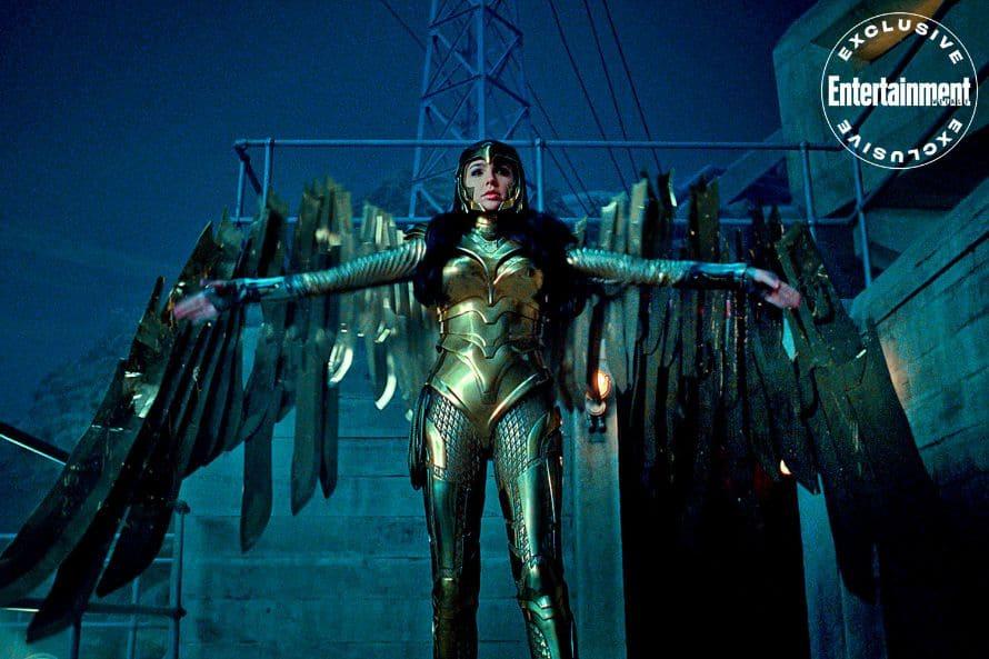Wonder Woman 1984 Gal Gadot Armor Wings