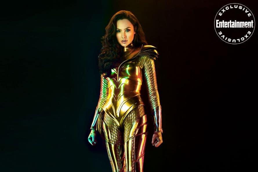 Wonder Woman 1984 Gal Gadot Armor