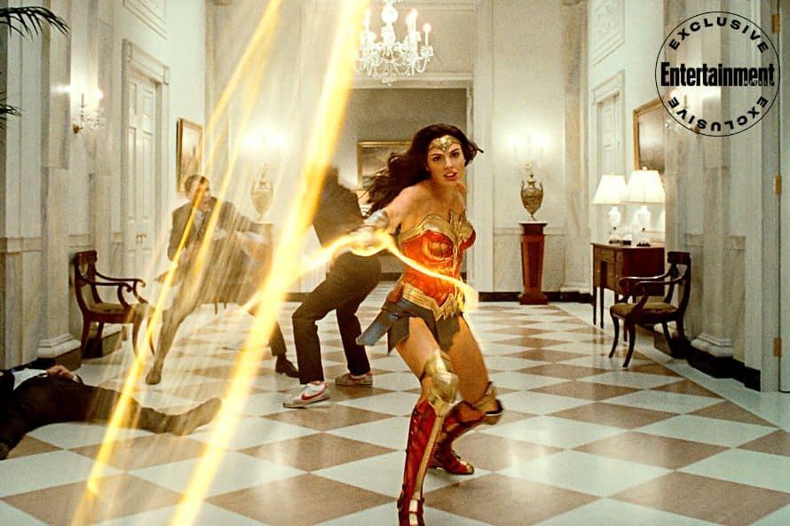 Wonder Woman 1984 Gal Gadot White House