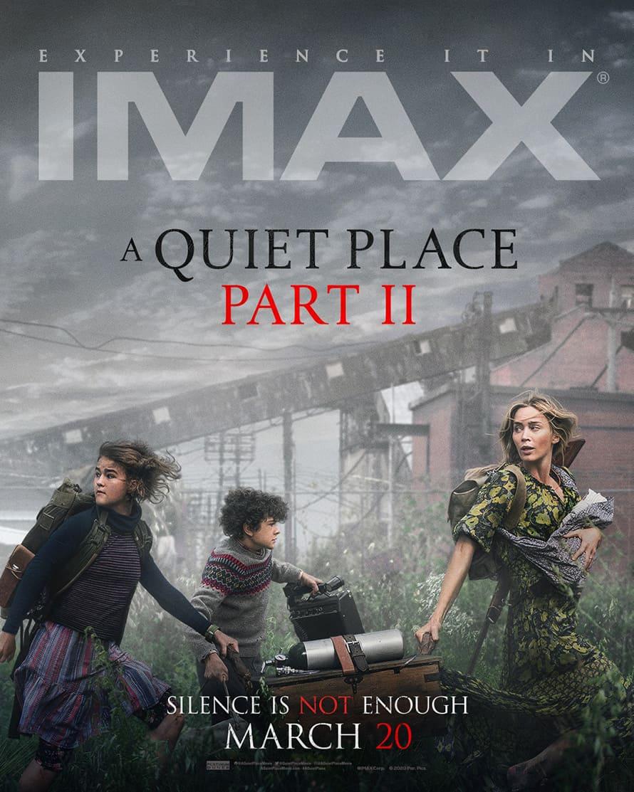 A Quiet Place John Krasinski Imax