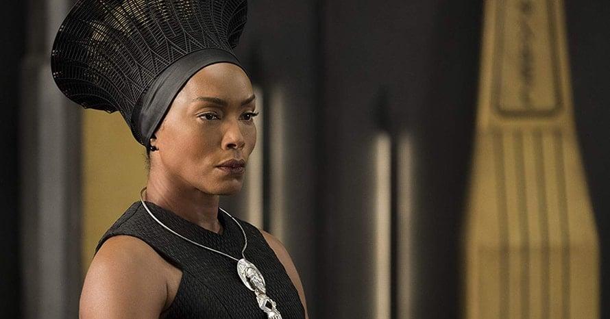 'Black Panther' Star Angela Bassett On Marvel Not Replacing Chadwick Boseman