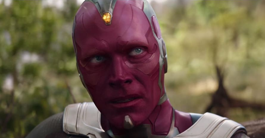 Avengers Infinity War Vision Paul Bettany WandaVision