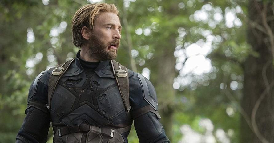 Chris Evans Captain America Avengers Infinity War Avengers Endgame