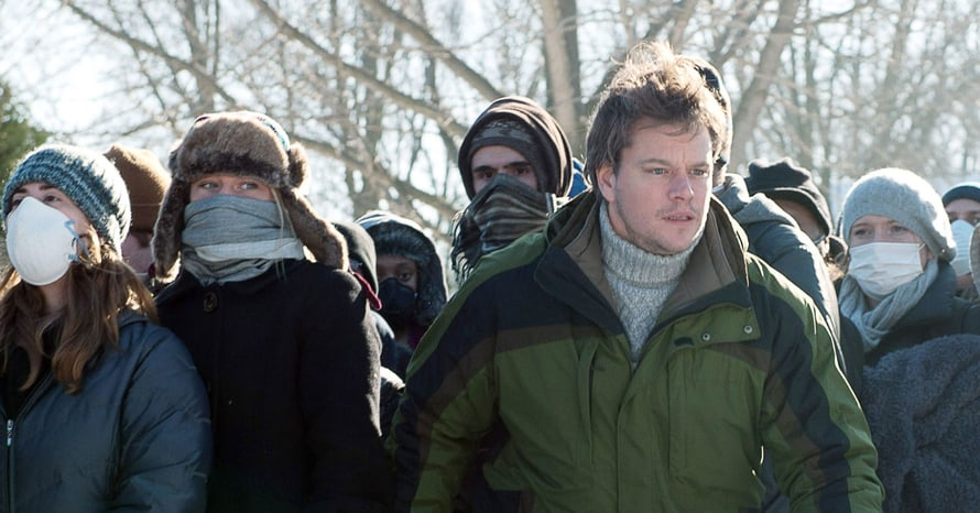 Contagion Warner Bros Matt Damon Coronavirus