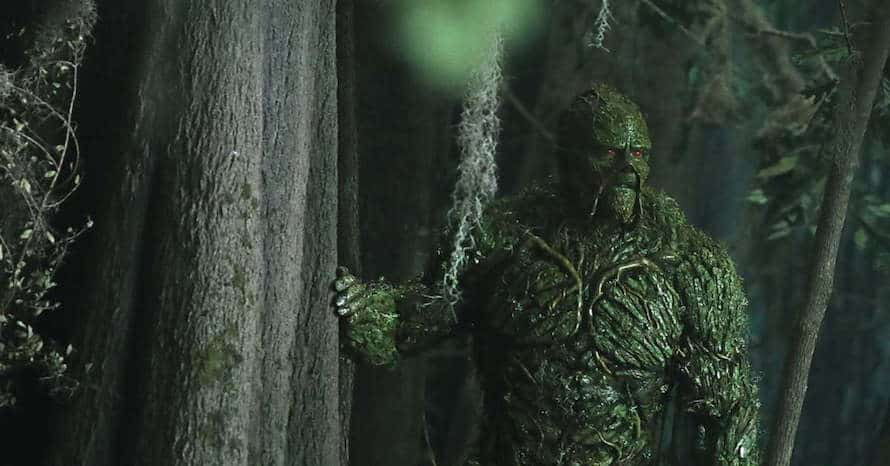 DC Universe Swamp Thing The CW
