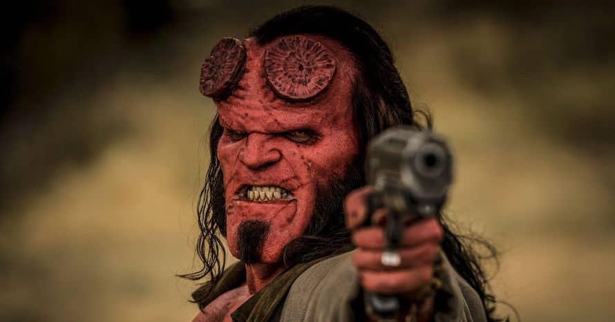 David Harbour Hellboy Guillermo Del Toro Us HBO Max