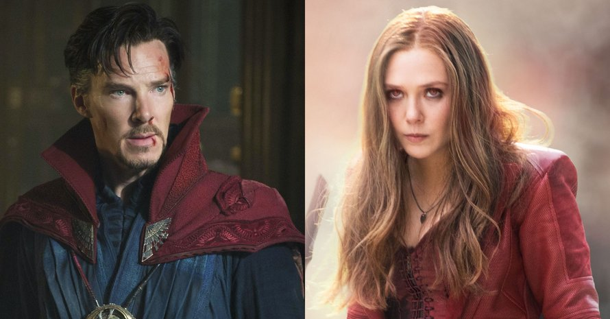 Doctor Strange Scarlet Witch Avengers Endgame Kevin Feige WandaVision Benedict Cumberbatch