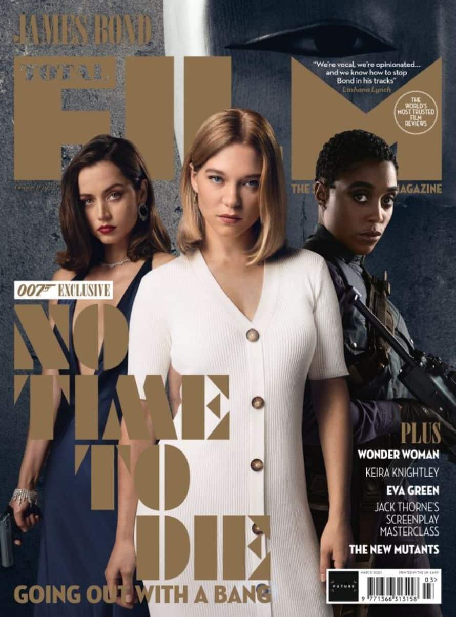 James Bond Girls Daniel Craig No Time To Die Cover