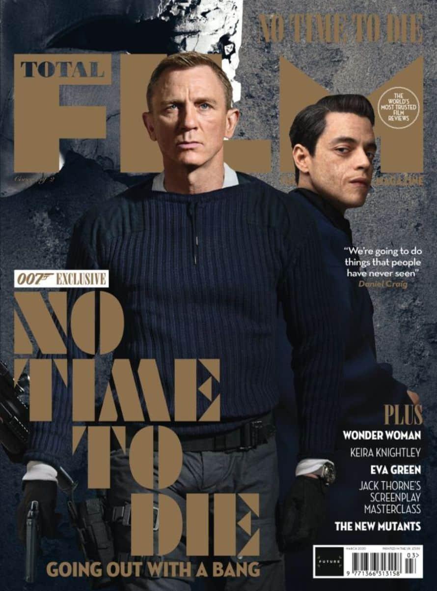 James Bond Villain Daniel Craig No Time To Die Cover