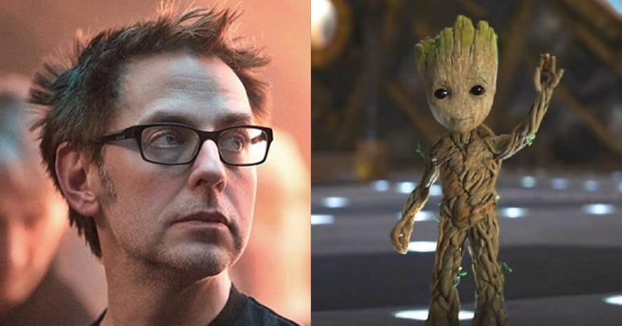 James Gunn Guardians of the Galaxy Vol. 3 Groot Vin Diesel