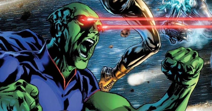 Justice League Mortal Martian Manhunter Harry Lennix Zack Snyder