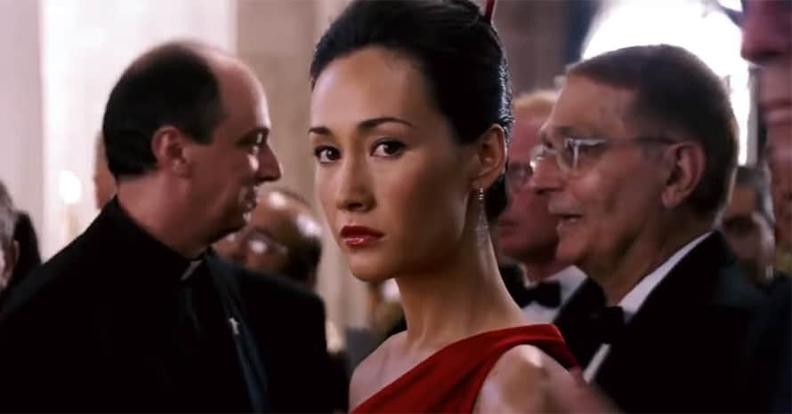 Maggie Q Tom Cruise Mission: Impossible