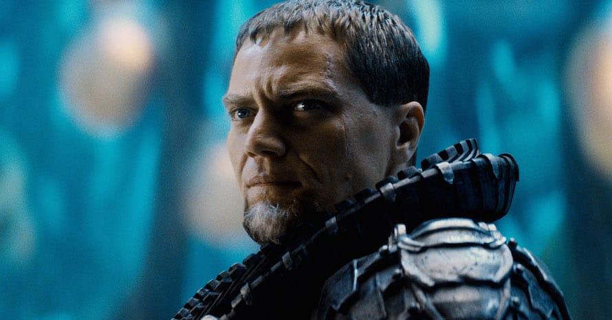 Man of Steel Michael Shannon Zack Snyder