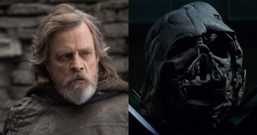 Mark hamill Luke Skywalker Darth Vader Star Wars The Force Awakens