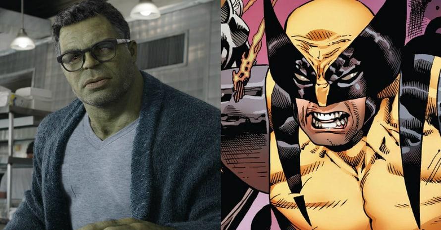 Mark Ruffalo Hulk Wolverine