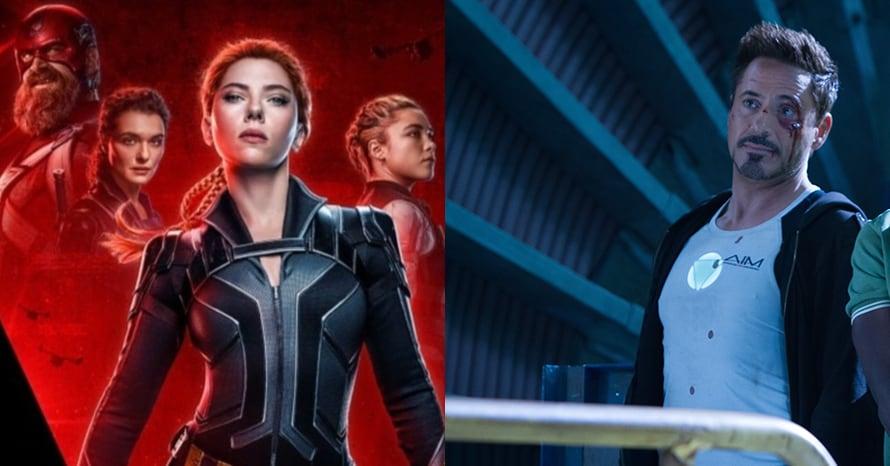 Scarlett Johansson Black Widow Iron Man