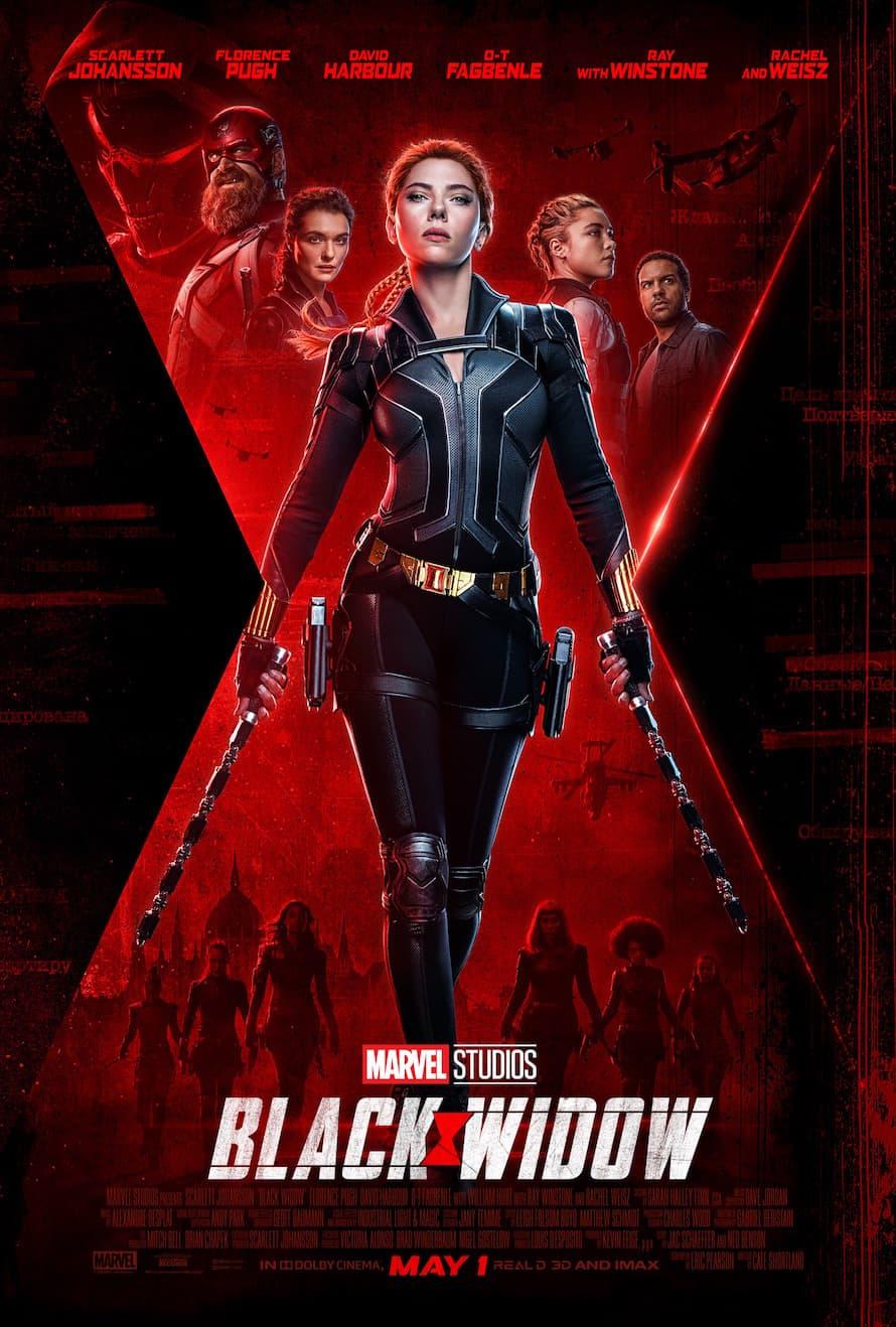 Scarlett Johansson Marvel Studios Black Widow Poster