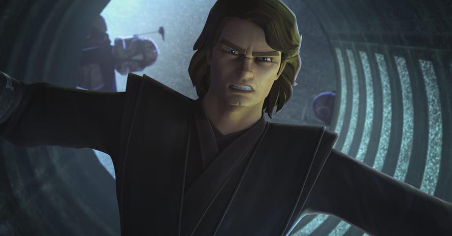Star Wars The Clone Wars Anakin