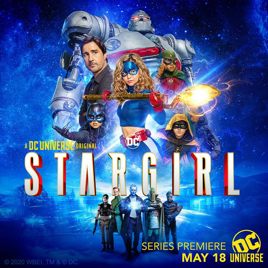 Stargirl Justice Society Poster DC Universe