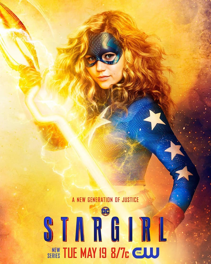 Stargirl Justice Society Solo Poster DC Universe
