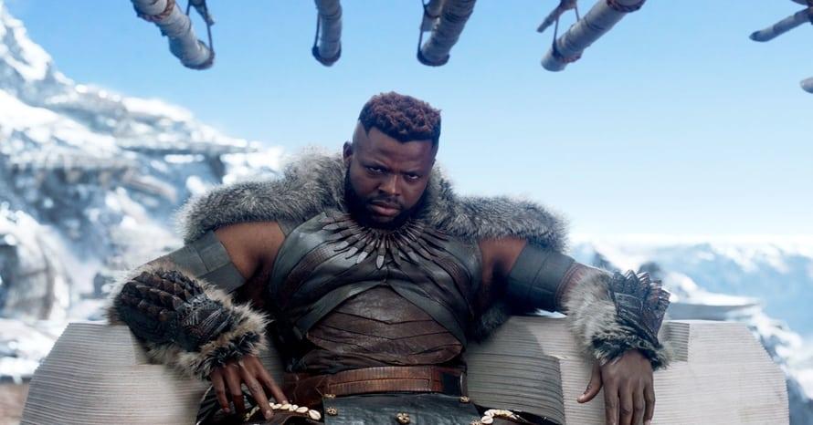 Winston Duke Black Panther Avengers: Endgame M'Baku