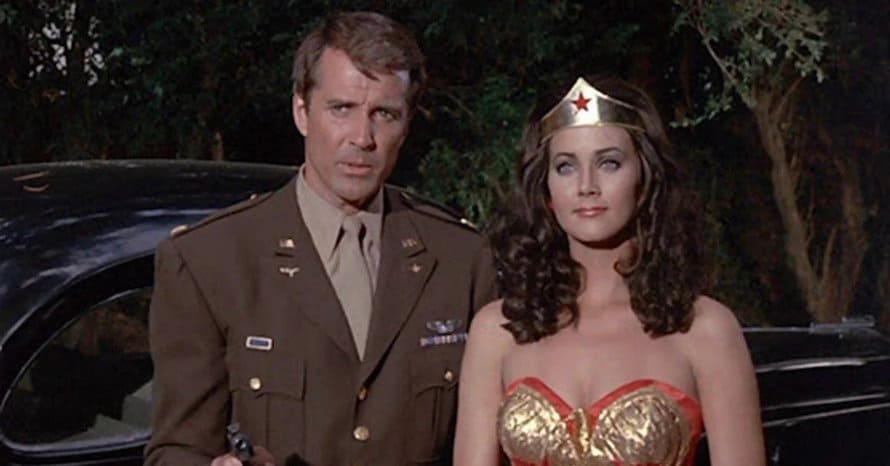 Wonder Woman Lynda Carter Lyle Waggoner