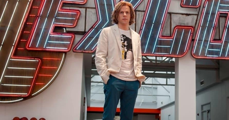 Zack Snyder Jesse Eisenberg Lex Luthor Batman v Superman