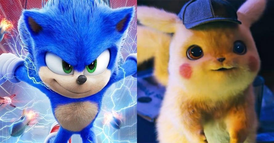 sonic detective pikachu