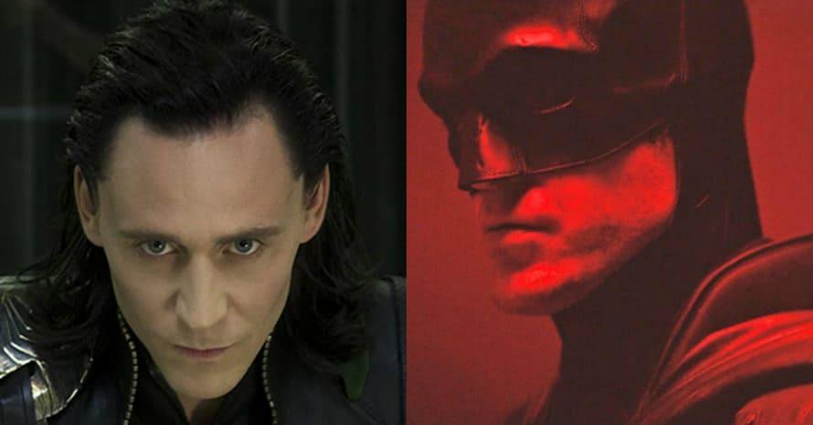 Avengers Tom Hiddleston Joker Batman Robert Pattinson Loki Joker
