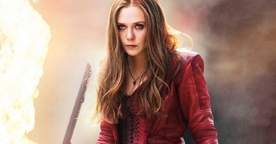 Elizabeth Olsen Scarlet Witch Captain America: Civil War Avengers WandaVision Age of Ultron